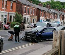 Police arriving at the scene in Leyland Road, Penwortham Pic: Blog Preston