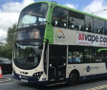 A 23 service in operation by Preston Bus during lockdown Pic: Colin Ward