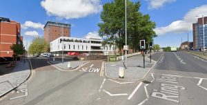 Ring Way will be shut from 6am on Saturday (May 30) where it meets Lawson Street Pic: Google