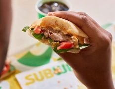 Subway is offering food for takeaway, delivery and orders placed through its app