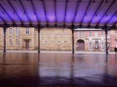 Preston Market and its canopy will turn purple in a 'stand against racism' Pic: 70023venus2009