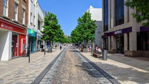 Fishergate on a sunny Thursday in June Pic: Tony Worrall