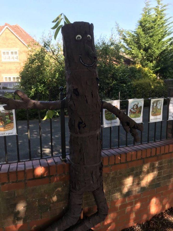 Scarecrow tree Pic: Philip Davidson