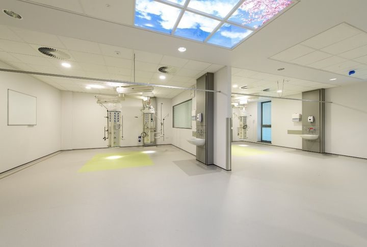 Royal Preston Hospital's Critical Care Unit bed spaces
