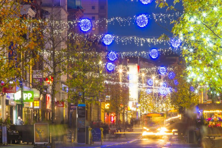 Christmas Lights, Fishergate Pic: David Toase