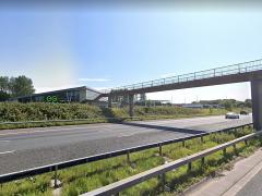 M61 near Bolton West Services Pic: Google Maps