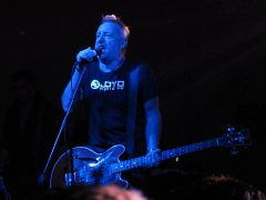 Peter Hook on stage in Chile in 2014 Pic: order_242
