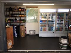 Inside the Priest Town Brewing unit
