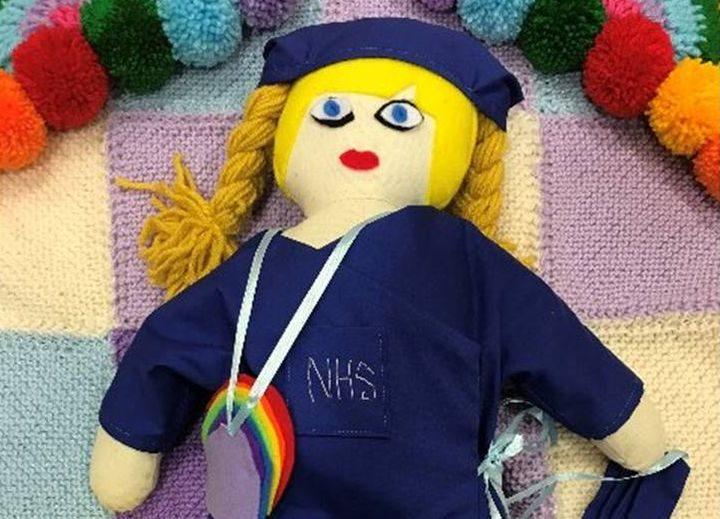 nurse ragdoll created by Judy Quin