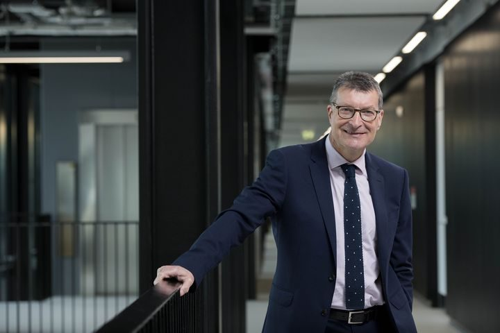 Vice-Chancellor Professor Graham Baldwin who has signed a Social Mobility Pledge on behalf of the University of Central Lancashire.