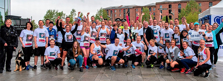 #kNOwKnifeCrime running group Pic: #kNOwKnifeCrime