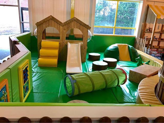 Soft play area in Kinder Hub, Cottam