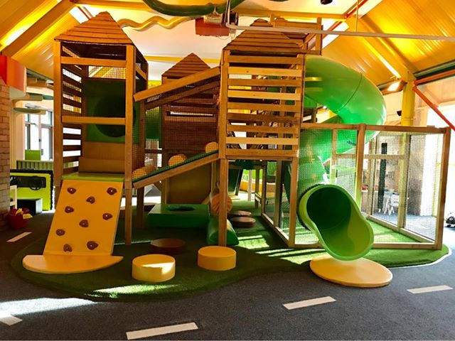 The Kinder Hub is a soft play area in Cottam