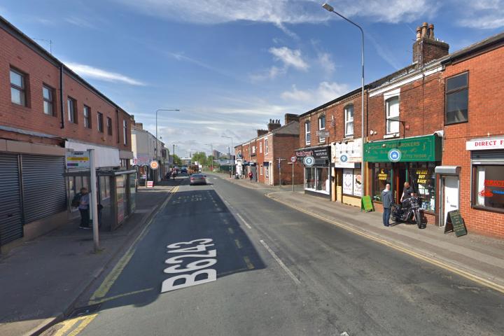 The crash occurred in Ribbleton Lane near to Skeffington Road