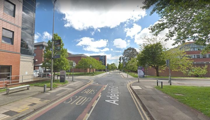 Road works and closures will be introduced along Adelphi Street. Pic: Google Map