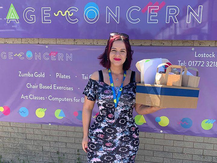 Age Concern Central Lancashire volunteer