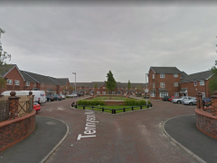The burglary took place at a property on Tennyson Mill Court