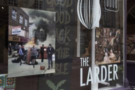 Cold War Steve Exhibition at The Larder, Preston, Lancashire