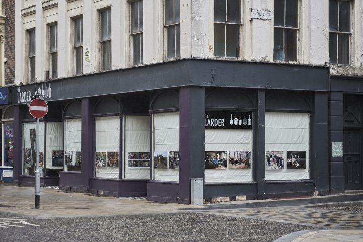 Cold War Steve Exhibition at The Larder, Preston, Lancashire.