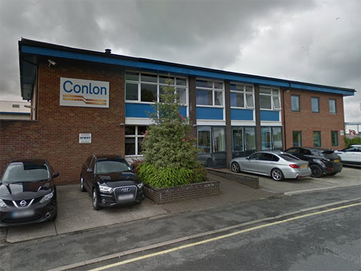 Conlon Construction building in Charnley Fold