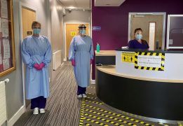 UCLan's COVID-19 dental hub