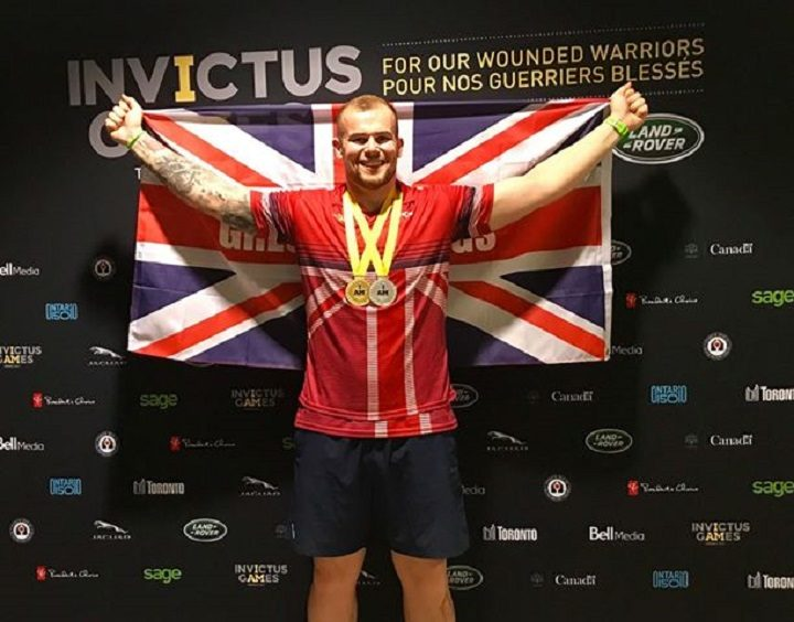 Greg in the Invictus Games