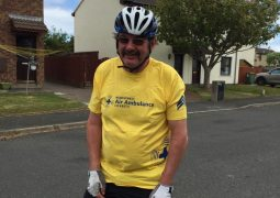 John Olerenshaw set himself the challenge for his 60th birthday to cycle the coastline of Great Britain,