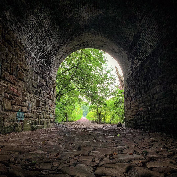 Path under Penwortham bridge Pic: martinbleasdale