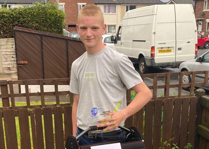 Evan O'Higgins - Outstanding Achievement in Plastering