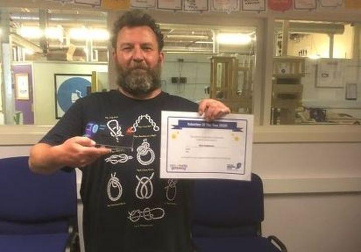 Peter Hodgkinson - Volunteer of the Year