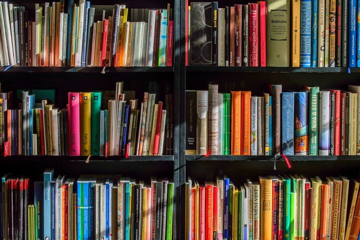 A selection of books.