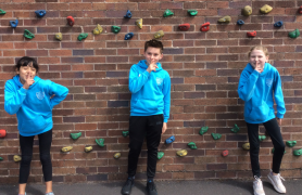 Students from Penwortham Primary School are taking part in a sponsored silence.
