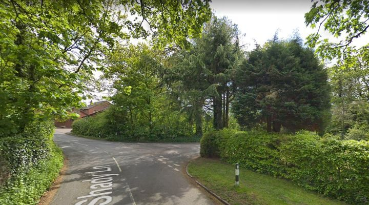 The junction of Shady Lane and Nell Lane. Pic: Google Maps