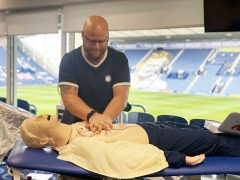 Life support training at Deepdale