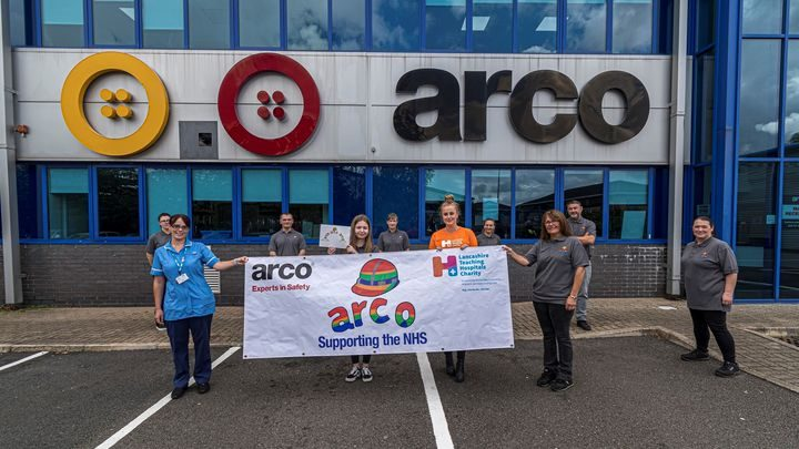 ARCO have supported the NHS