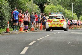 Social distancing measures were in place at this year's City of Preston Road Race Pic: Steven Taylor