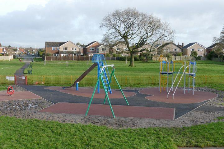 The first phase of Conway Park's play area upgrade