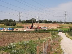 Greenspace being developed in Preston