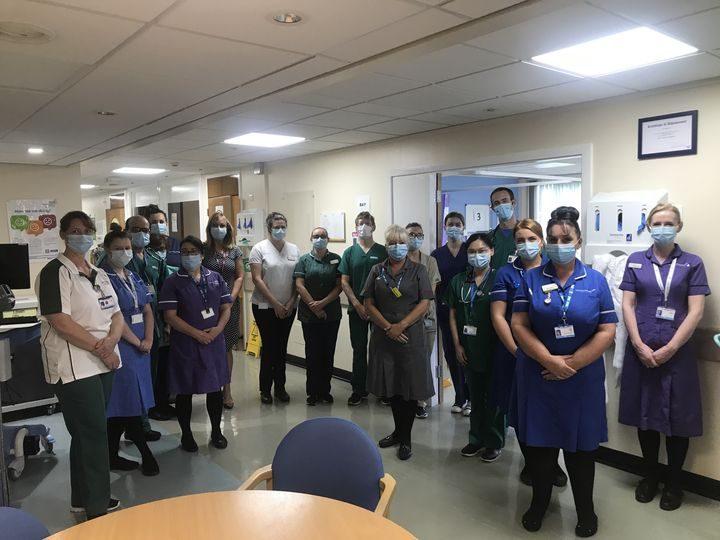 Royal Preston Hospital's Acute Frailty team
