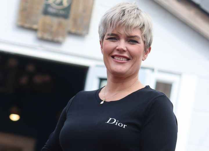 Independent beauty business owner Jen Maudsley