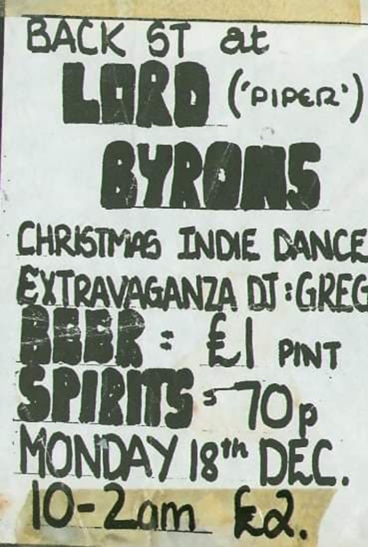 Lord Byrons flyer