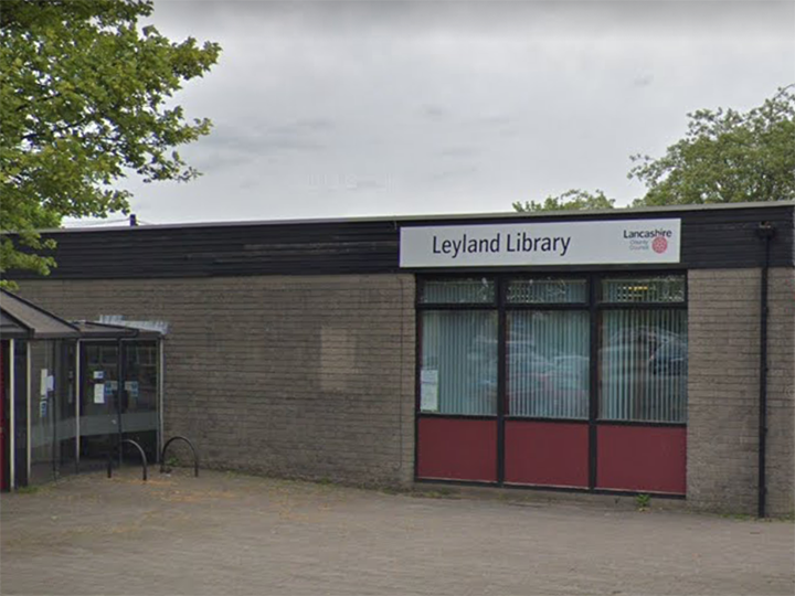 Leyland Library Pic: Google Maps