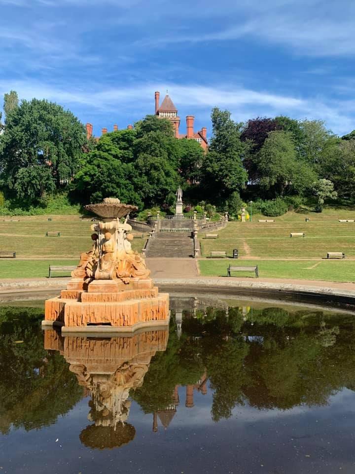 Miller Park fountain Pic: Jemma Oliver