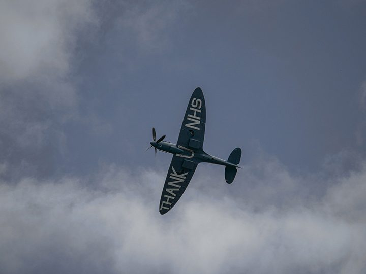 The NHS Spitfire Pic: marcart from Pixabay