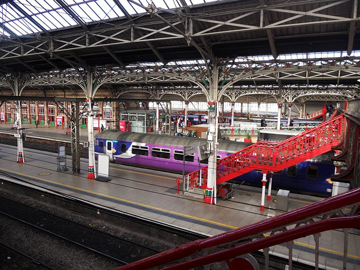 Preston Railway Station Pic: Joanna Em