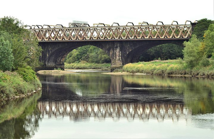 Railway bridge over the River Ribble Pic: Stephen Murtagh