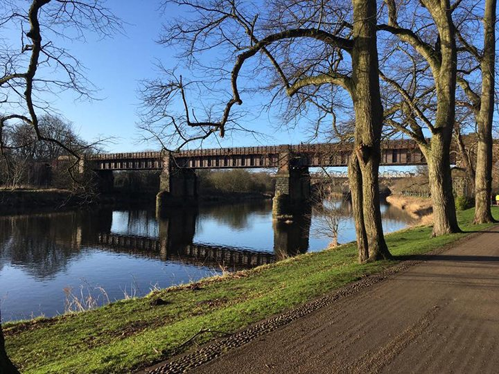 River Ribble from Avenham Park Pic: Yvonne Grime