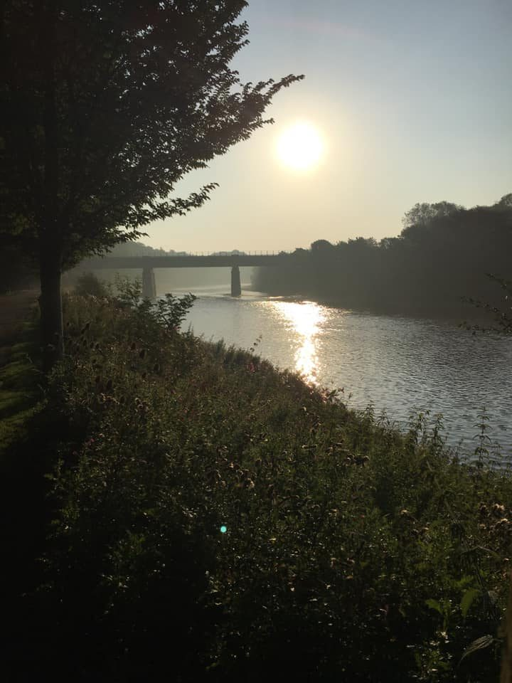 River Ribble from Miller Park Pic: Linda Mansley