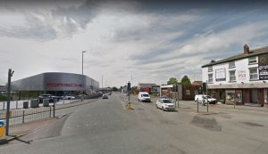 A583 Riversway and Watery Lane/Strand Road junction. Pic: Google maps