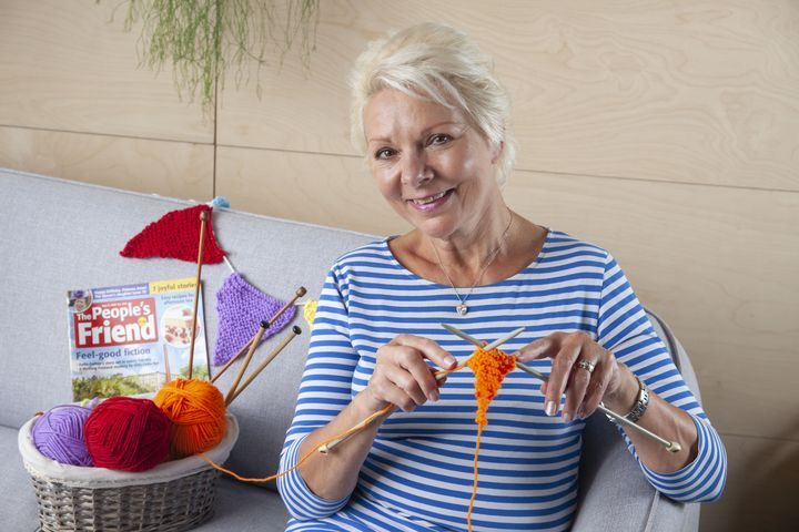 Knitter's can send a triangle of knitted bunting to support the campaign